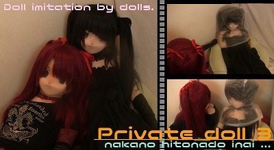 Private Doll 3 - Doll imitation by dolls (お人形ごっこプレイ!)
